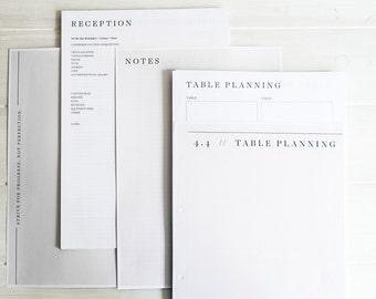 Wedding planning A4 Spiral Book, organiser, planner, engagement gift   Planning book