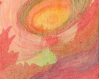 Organic Fiction Series  #1 - Fine Art Print Limited Edition