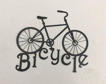 Bicycle  - Bike  - Wall Hanging Art -  Metal Bicycles