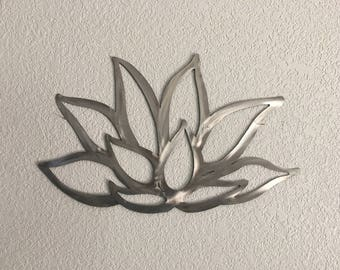 Stainless Steel Flower - Lotus Flower - Home Decor  - Metal Art Hanging