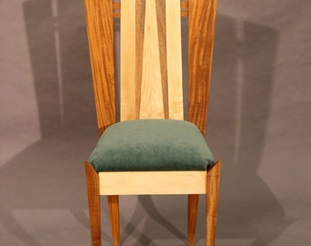 Mahogany and Maple Chair