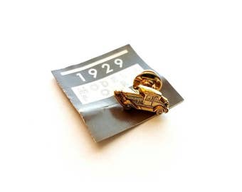 Vintage AVON Gold 1929 Model A Ford Car Pin Back, Scatter Pin