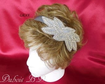 Bridal rhinestone headband, Bride, bridesmaid or flower girl headband, bridal headpiece, Bridal headband, Bridal tiara
