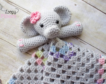 Elephant lovey | Etsy - photo#22