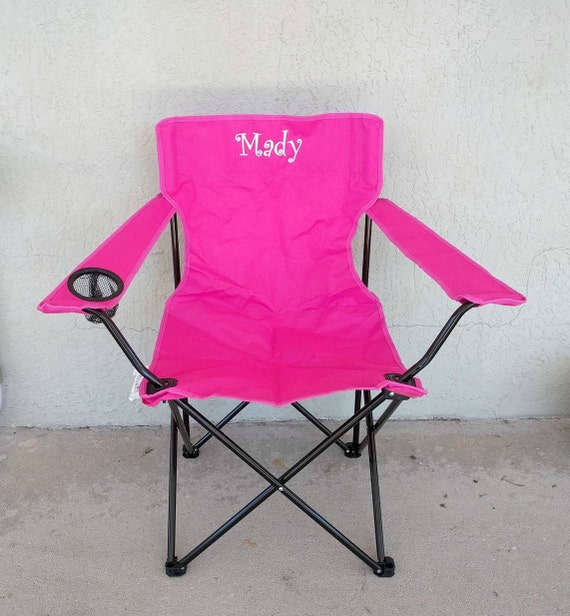 Graduation Gift Beach Chair Monogrammed Adult Folding