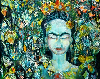 Frida Kahlo  -  giclee art print