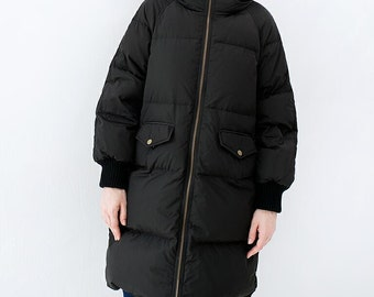 Winter Down Jacket Hooded Down jacket Thick Women Warm Down jacket Winter Coats