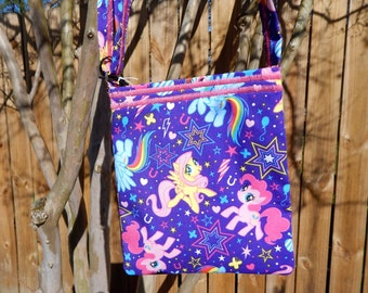 Crossbody Mini-Purple Pony