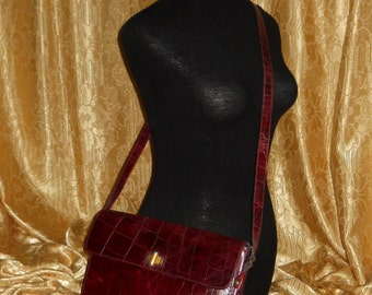 Genuine vintage Furla bag - genuine leather - Made in Italy