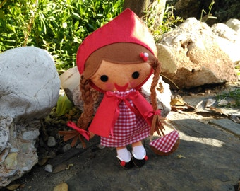 Caperucita Roja - doll - dolls - little Red Riding Hood - little red riding hood - tales - stories