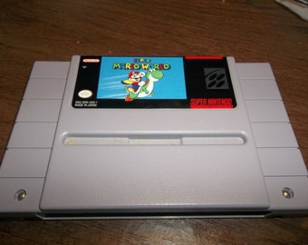 Super Mario World for the Super Nintendo Free Shipping