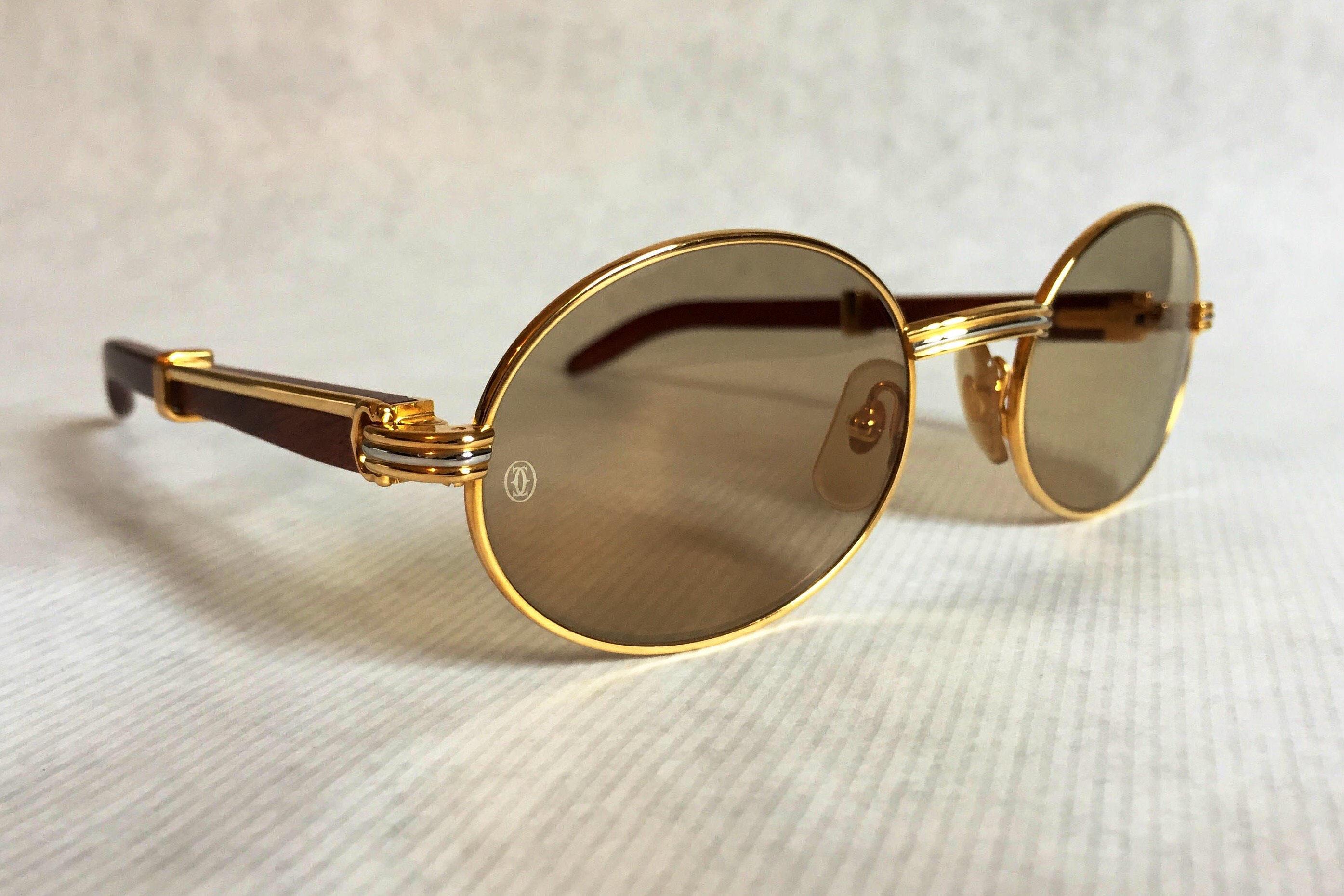 c1d9b0df7303 Big Lens Cartier Glasses Replica