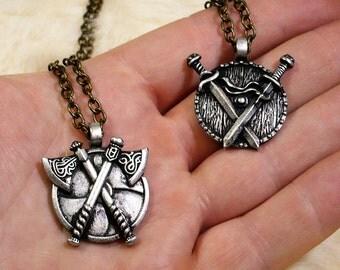 Viking pendant pack, 2 barbarian pendants