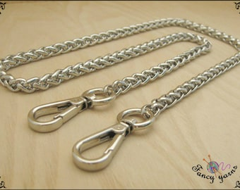 Chain bag braided 8mm available in 4 sizes