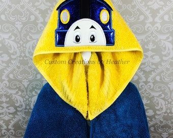 Thomas The Train Inspired Hooded Towel on High Quality Belk Department Store Towel