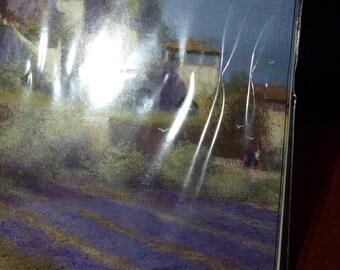 5 Notelets  Lavender Fields