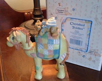"ENESCO Cherished Teddies ""Camel"".  Numbered 904309  Retired."