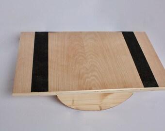Handmade Wooden Balance Board / Wobble Board