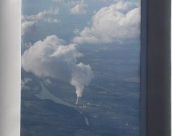 Canvas 16x24; Isar Kernkraftwerk Nuclear Power Plant