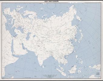 16x24 Poster; Cia Map Of Australia 1959