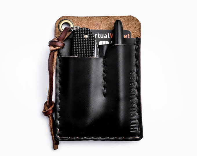 Card Caddy ~ Black Chromexcel