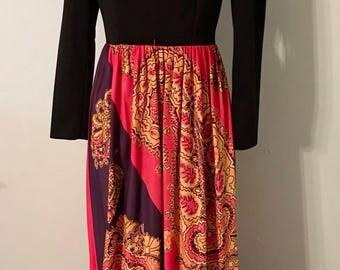 Vintage 1960/1970s Maxi-Dress