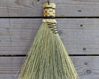 Braided Turkey Wing Whisk Broom
