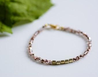 Gold Sparkle Bracelet