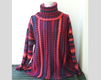 Pullover oversize reds - no postage is charged