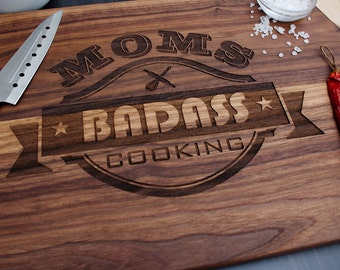 Mothers day Cutting Board, Mother's day gift, Engraved cutting board, gift for moms, moms day, moms kitchen, Cutting boards, personalized