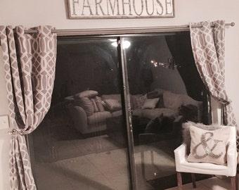 Farmhouse | Large Wood Sign