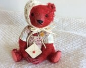 Mohair Teddy Bear OOAK By Pat Murphy