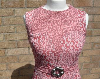 1960's Vintage Ladies Day Dress