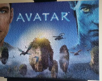 James Cameron's Avatar Puzzle Wall Art, Completed & Unframed