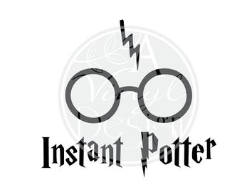 Instant Potter Vinyl Decal