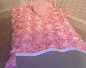 "Comfoter set for 18"" doll bed"