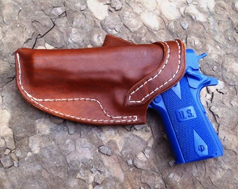 Custom leather 1911 holster