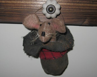 Tree Ornament - Mouse Decoration - Christmas - Holiday