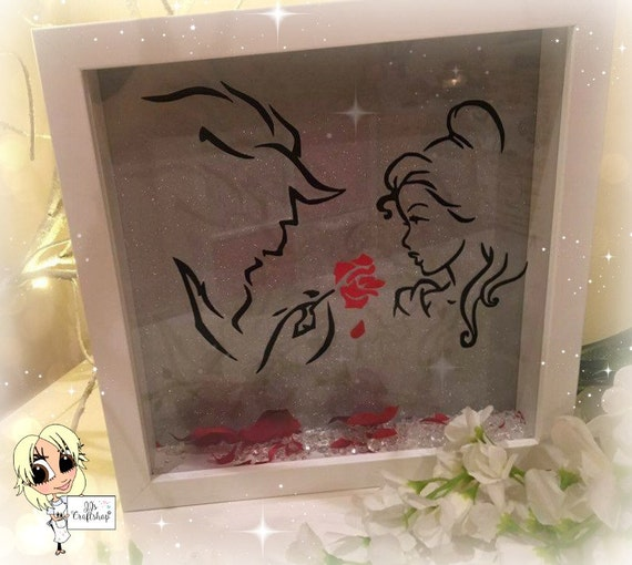Beauty And The Beast Inspired Box Frame Home Decor Wall