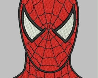 Spiderman Embroidery Design