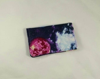 Slim Wallet • Card Wallet • Credit Card Holder • Card Holder • Business Card Holder! Galaxy, Space! *R2S!*