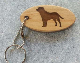 Handcrafted Labrador Key Chain Fob