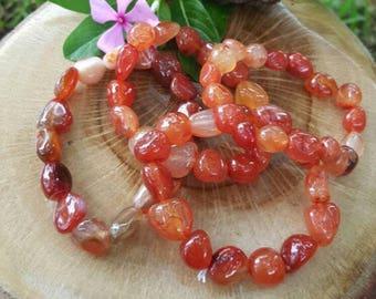 Carnelian Bracelet. Gemstone Bracelets