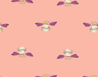 Garden Dreamer by Art Gallery - Bumble Beez - Cotton/Spandex Knit