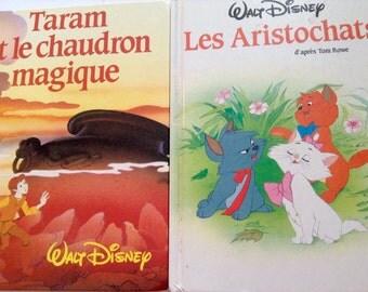 Vintage Walt Disney FRANCE LOISIRS Children's Books Duo - Reduced !!!