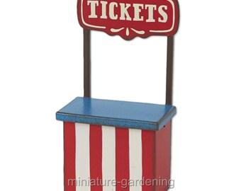Ticket Booth for Miniature Garden, Fairy Garden