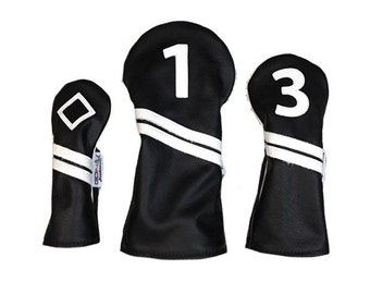 The Varsity Collection leather club covers