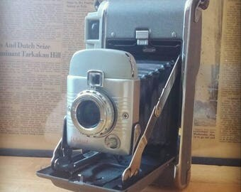 Polaroid Camera Model 80A, Highlander Series, 1954- 1957