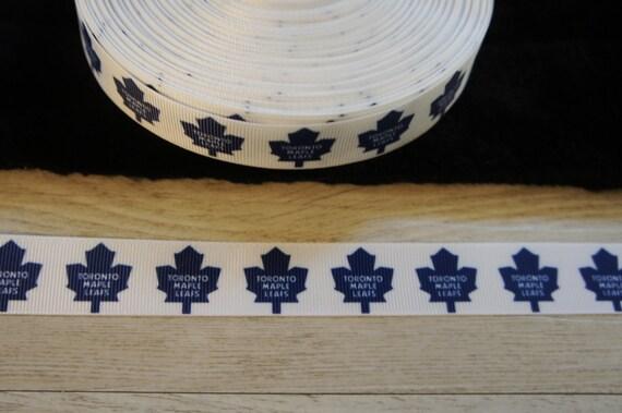 Basket Weaving Supplies Toronto : Yards maple leafs of toronto grosgrain ribbon mm