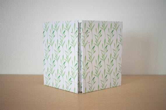 A6 blank notebook, Handmade notebook, Blank pages notebook, Cute notebook, Handmade diary, Hardcover notebook, Drawing book